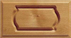 Mission Routed Drawer Fronts