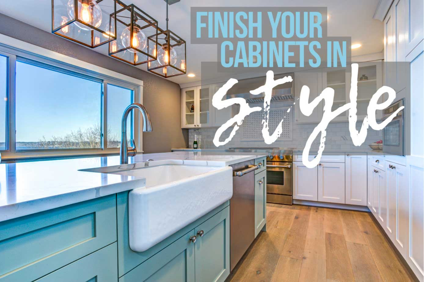 Complete Guide to Finishing Cabinets
