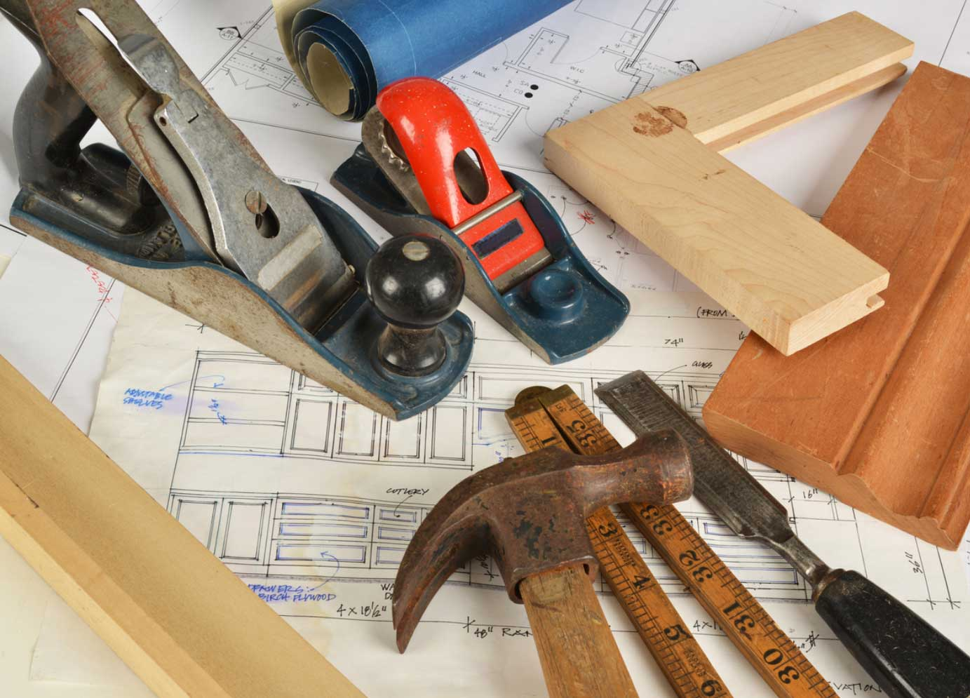 Wood Plainer, Scale, and other tools